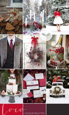 Berry Red Winter Wedding Inspiration | Style Focused Wedding Venue Directory | Coco Wedding Venues