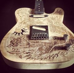 illustration: Ollie Munden, guitar build by Jeff Nichols