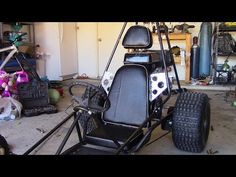 How To Make a Go Kart Seat, Step by Step Walkthrough - YouTube