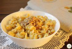 Spatzle con Pesto di Noci Spatzle, Polenta, Ravioli, Paella, Italian Recipes, Risotto, Macaroni And Cheese, Spanish, French