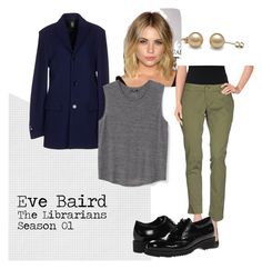 """Eve Baird"" by shaylinka on Polyvore featuring Dondup, (+) PEOPLE, MANGO and La Canadienne"