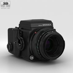 Zenza Bronica ETRS 3d model from Humster3D.com.