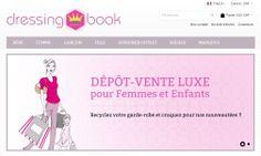 Création d'un site e-commerce de dépôt-vente de luxe #Dressingbook en Suisse. Dressing Book a fait confiance à Edenweb pour la création de son site e-commerce responsive sous Magento www.dressingbook.ch