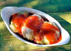 Gluten free stuffed cabbage with quinoa and sweet potato stuffing