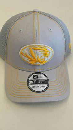 newest 639ee ea5ae Missouri Tigers Gray Neo 39THIRTY Hat by New Era www.shopmosports.com