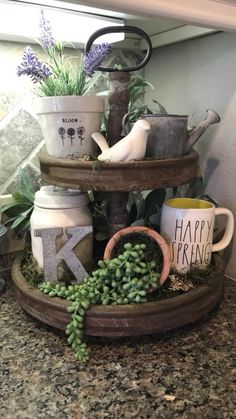 If you are looking for Spring Kitchen Decor Ideas, You come to the right place. Below are the Spring Kitchen Decor Ideas. This post about Spring Kitchen Decor Ideas was posted under the Kitchen catego. Spring Kitchen Decor, Spring Home Decor, Decoration Table, Tray Decor, Centerpiece Ideas, Country Farmhouse Decor, Rustic Decor, Farmhouse Ideas, Farmhouse Style