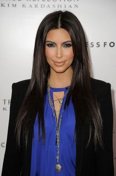 Kim Kardashian that hair, i want it!! lol