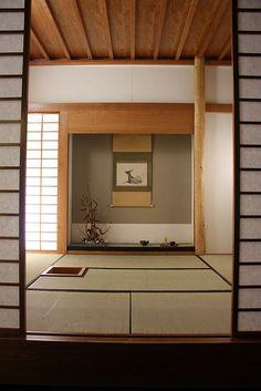 Sala tradicional japonesa • Japanese home