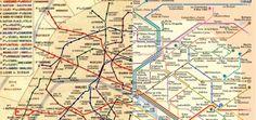 L'histoire de notre cher et tendre métro parisien débute au milieu du 19ème siècle et sa première ligne ouvre les portes de ses wagons en 1900. Vous l'imaginez bien, notre transport en commun préféré a bien changé ! Des millions de personnes se sont arrêtés et s'arrêtent toujours face aux plans mythiques du réseau parisien …