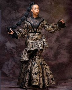 Long African Dresses, African Wear, African Fashion Dresses, Unique Ankara Styles, Hijab Style Dress, Infinity Dress, Ankara Dress, Satin Gown, African Print Fashion