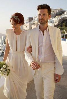 Deguisement robe de marie homme