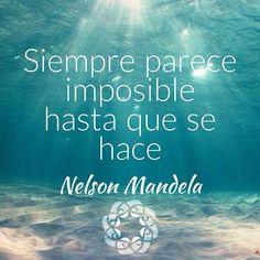 Siempre parece imposible hasta que se hace... • ❁GO! NAMASTE ॐ #yopiensoenpositivo #piensoenpositivo #pienso_en_positivo  #citas #hooponopono #motivacion #emprendedores #emprende #vive #yoga #felicidad #publicidad #namaste #love #smile #happy #go . Nuestros productos en: @by.piensoenpositivo . Compártela Etiqueta a Otros PIENSA EN POSITIVO VIVE EN POSITIVO