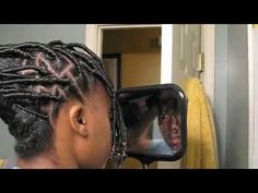 """▶ 108: Natural Hair Styling Tutorial """"Pop Loc'in"""" - YouTube"""