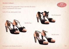 Sapato 3 em 1 da Pio Acessórios!!