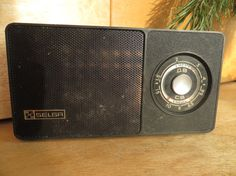 SELGA Soviet Portable Radio. Vintage USSR Radio with original case. Not working Russian Pocket Radio Receiver. Soviet Transistor 1970s.Decor