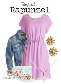 """Rapunzel"" by charlizard ❤ liked on Polyvore"