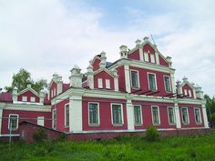 усадьба помещика Сатина в с. Перикса.- Tambov region, home of the landowner Satin