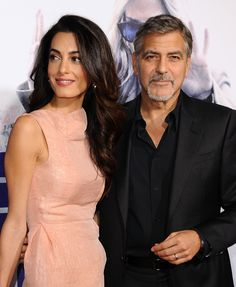 Amal and George Clooney <3