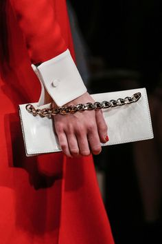 The bags at Valentino RTW Fall 2013
