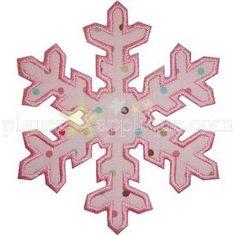 Snowflake 3 Applique - Planet Applique Inc Purchased 11/29/16