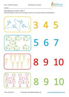 Aprender a contar: Ficha 7