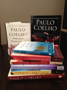 These books are some of the best books I ever read.  Books to live by and the alchemist is inspirational and life changing.  Paulo Coelho is an amazing author...