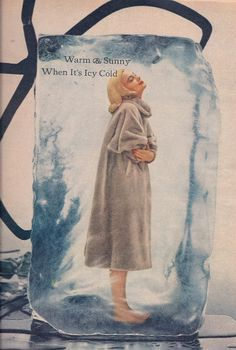 Retro advertisement for Fur 1950's Vintage ad for fur 1950s Perfect attire to keep warm in the Cold war     | Flickr - Photo Sharing!