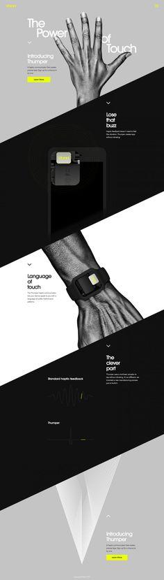 Vibrant landing page design inspiration - Lapa Ninja Web Layout, Layout Design, Design Responsive, Sports Graphic Design, Skirt Mini, Ui Web, Landing Page Design, Creative Advertising, Web Design Inspiration
