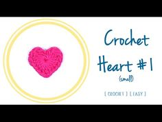 #Crochet #Heart (1 - small) | #PatronesValhallaENG