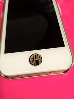 monogrammed home button