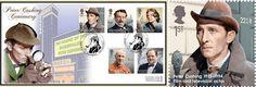 actor stamps | Peter Cushing British actor Sherlock Holmes stamp
