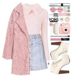 """Yoins #15"" by blueberrylexie ❤ liked on Polyvore featuring Topshop, Speed Limit 98, esum, NARS Cosmetics, Polaroid, HAY, By Terry, Forever 21, Wildfox and Essie"