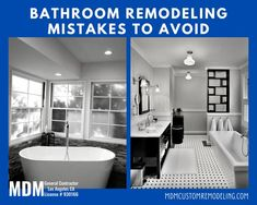 Bathroom remodeling is a vital home improvement project. It can greatly affect a home's resale value. But it requires a lot of considerations to get the best outcome in return for investment. And that's where many homeowners in LA commit mistakes. Therefore, if you are planning to go for this approach, you should be aware of bathroom remodeling mistakes first. bathroomremodeling bathroomremodelingservice bathroomremodelingmistakes bathroom remodeling bathroomremodelinglosangeles losangeles
