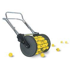 Tennis Ball Pick Up Roller Hopper Mower 150 | JUMPUSA.com | $250 but so cool