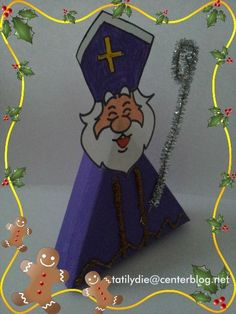 Boîte bonbons St Nicolas