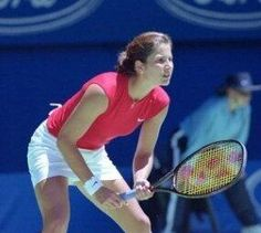 Mirka. Mirka was a professional tennis player for Switzerland too. They met at 2000 Olympics in Australia.  By 2003 she was at court side All the time when RF won his lst Wimbledon title. First of 17 GSs (and counting)