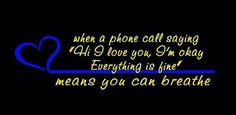 That police life ... People take it for granted