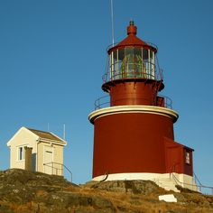Utsira Lighthouse is a coastal lighthouse in Rogaland county, Norway. It sits on the western side of the island of Utsira in the municipality of Utsira.  Opened 1844, automated 2004.