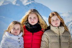 Royal Sisters... Princess Ariane, Crown Princess Catharina-Amalia and Princess Alexia of Netherlands