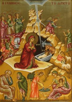 Nativity of Our Lady SOURCE We can measure the immense finesse of the Church in dealing with everything when we consider that the. Christian Artwork, Christian Images, Religious Icons, Religious Art, Byzantine Icons, Holy Mary, Jesus Cristo, Orthodox Icons, Sacred Art