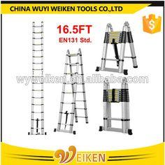 Multi-purpose Folding Telescopic Aluminium a Frame Shape Ladder UK for sale online Multi Purpose Ladder, Aluminium Ladder, New Homeowner, New Construction, Telescope, Home Depot, Shapes, Ebay, Ladders