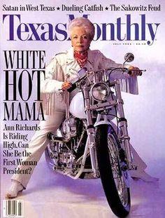 Anne Richards - Gov of Texas