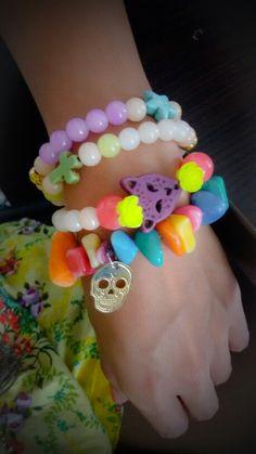 Pulseritas de colores!!! Combinalas como quieras!!!