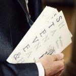 Wedding stationery ideas (J&H names are same length)