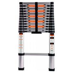 Escada Telescópica alum. 3,8m 213800 - BELFIX