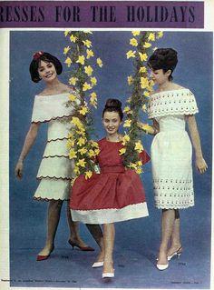 Holiday dresses, 1962