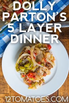 Dolly Parton's Five Layer Dinner