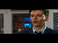 "Doctor Who - ""State your name, rank, and intention."" ""The Doctor. Doctor. Fun."""