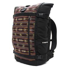 Guatemala 3 Raja laptop backpack - The laptop compatible Raja Pack is made from 840-denier ballistic nylon and can handle anything from your home to office commute, a weekend camping trip, or an all out adventure abroad. Includes a hand-loomed Mayan THREAD from the highlands of Guatemala. www.EthnotekBags.com