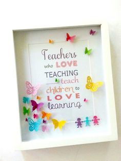 ideas gifts quotes teacher for 2019 Teachers Day Gifts, Thank You Teacher Gifts, Presents For Teachers, Teacher Cards, Teacher Appreciation Gifts, Craft Gifts, Diy Gifts, Diy And Crafts, Crafts For Kids